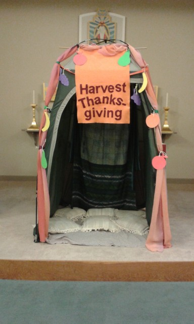 Experience Harvest Tent